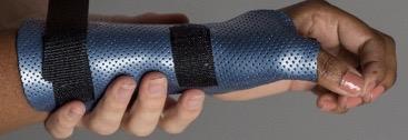 Hand splinting options for the elderly patient